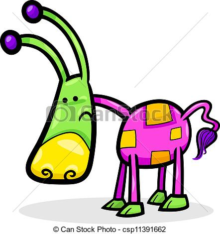 Fantasy clipart cartoon Funny fantasy Cartoon Vector Clip