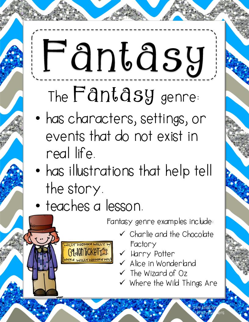 Fantasy clipart fantasy genre Genres  LiveBinder Literary