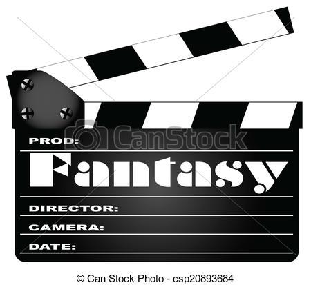 Fantasy clipart fantasy genre Clapperboard Clapperboard Fantasy Fantasy Vector