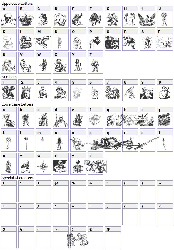 Fantasy clipart font Map Font Fantasy Download Fantasy