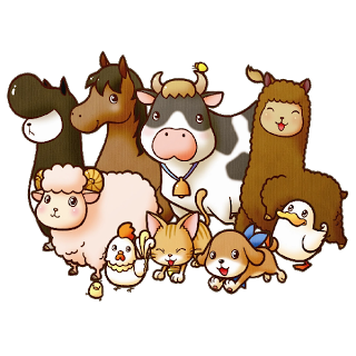 Moving clipart farm animal On Background Images A Farm