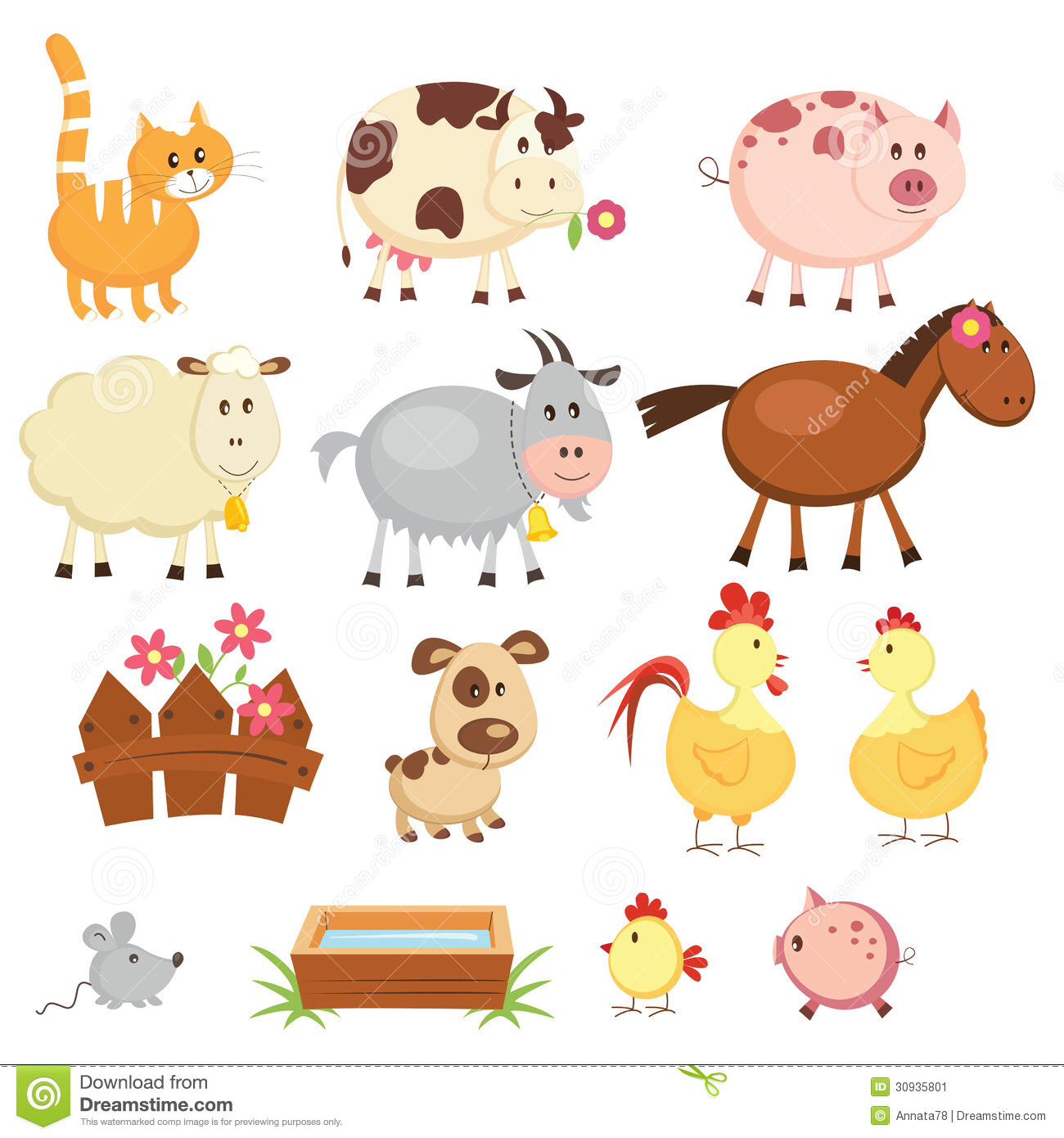 Animal clipart printable Clipart Animal Farm animal Farm