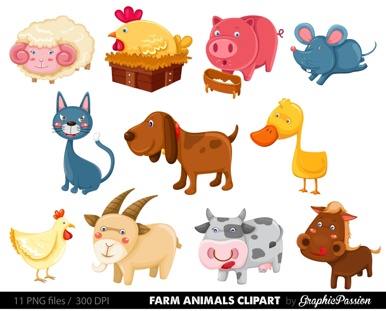 Cattle clipart barnyard animal Art Vectors Farm Premium Clip