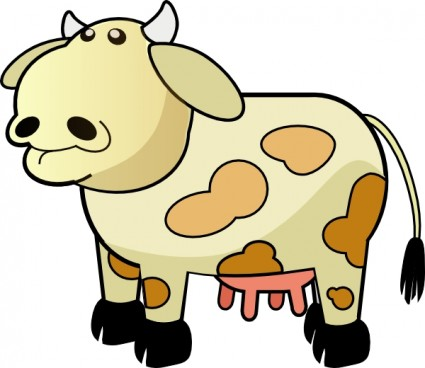 Cattle clipart white background Clipart Free Animal Art download