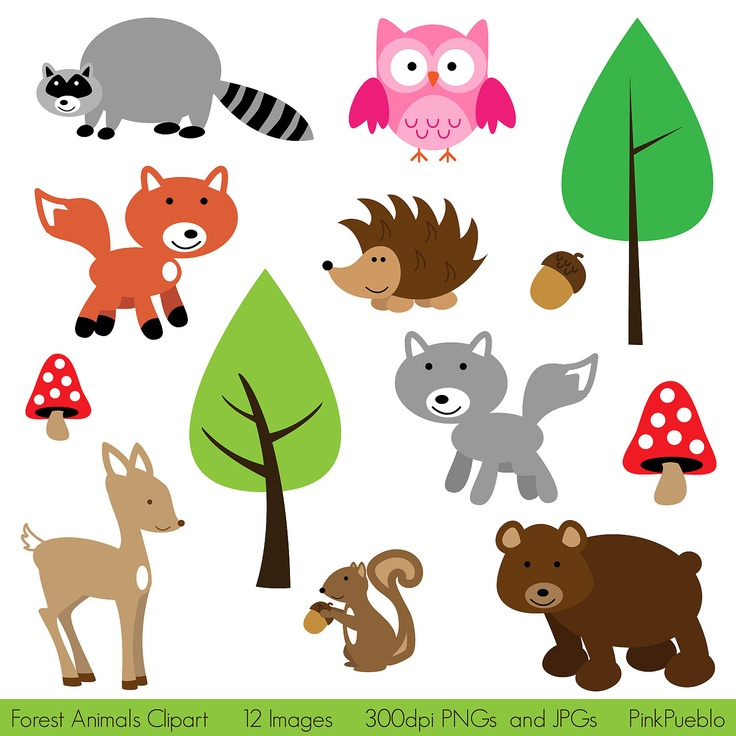 Animal clipart printable Out your SALE Use on