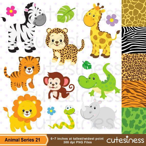 Zoo clipart small animal Safari baby Clipart ideas on