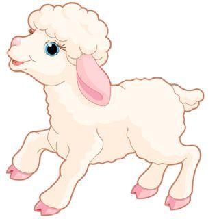 Sheep clipart transparent background #4