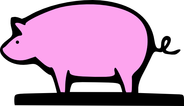 Pork clipart farm pig Com at Clker as: Pig