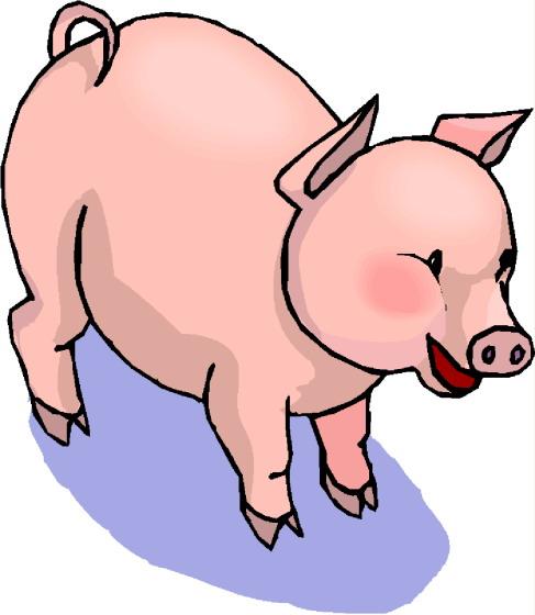 Pork clipart farm animal Art Pigs clip Pigs Clip