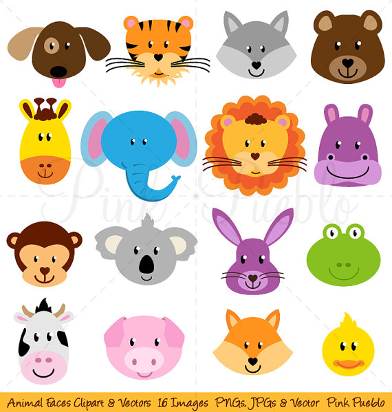 Zoo clipart forest animal Animal Forest Clipart Art Clip