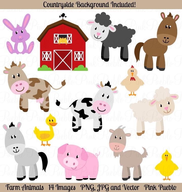 Amd clipart farm animal Art Farm Animals Clip Like