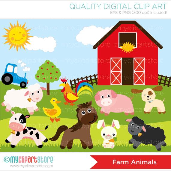 Amd clipart farm animal  MyClipArtStore Donnald / by