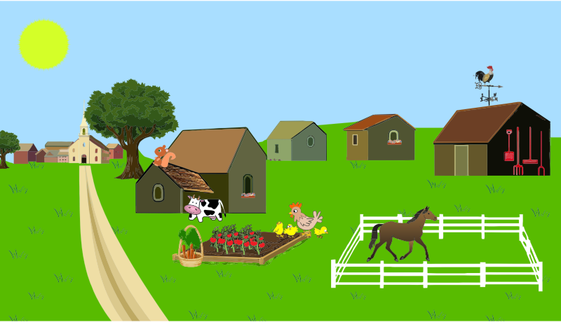 Village clipart Clipart Download of free
