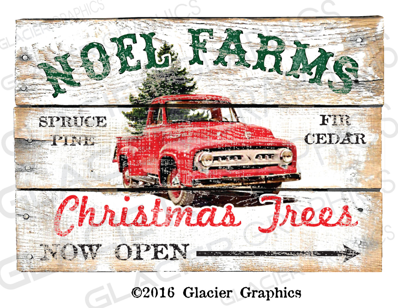 Barn clipart primitive Etsy Christmas hd truck Primitive