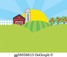Farm clipart land And Stock Country Clip land