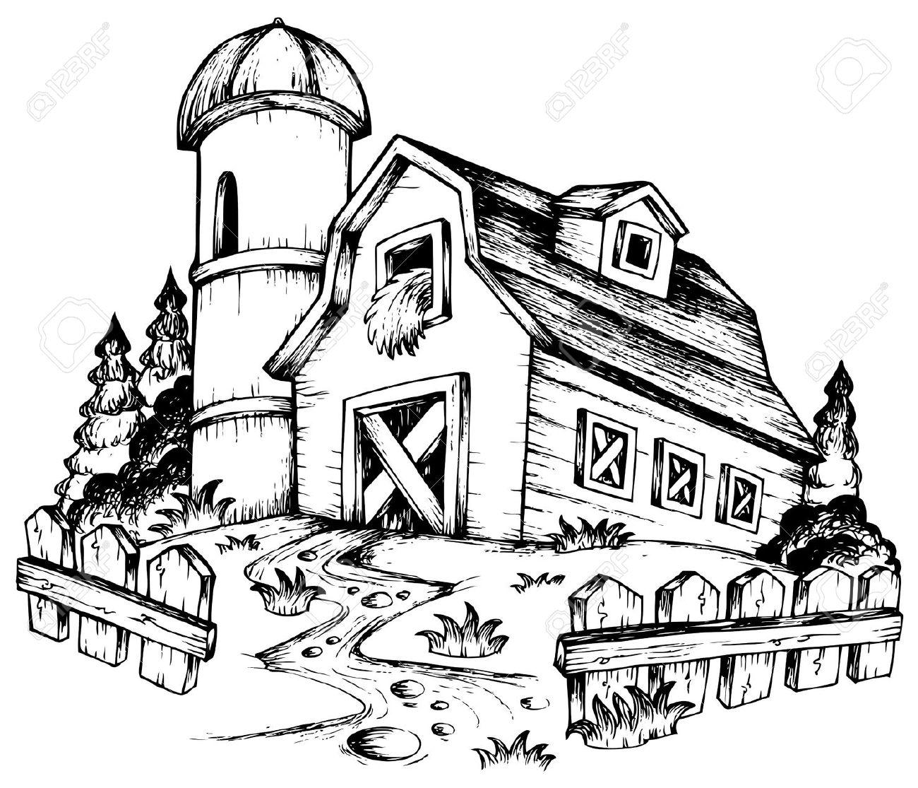 Drawn hosue farm house More! com/images/clairev/clairev1111  http://previews Explore