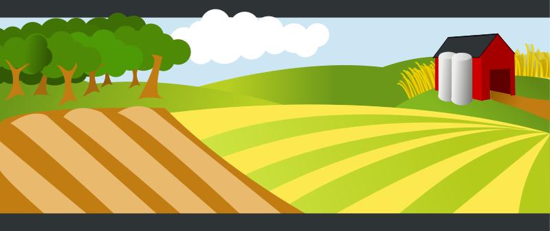 Farmland clipart #3