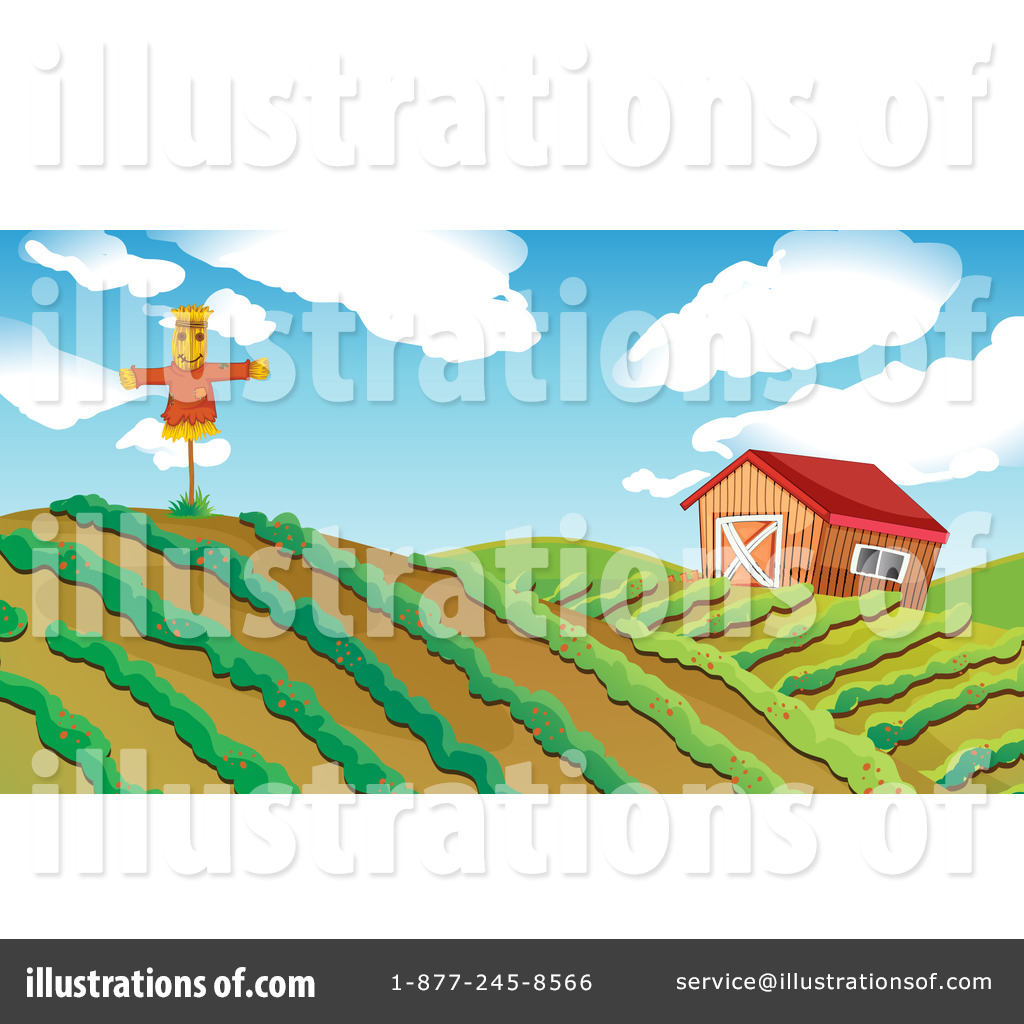 Farmland clipart Colematt Royalty Illustration Land by