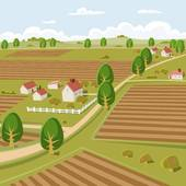 Farmland clipart Farmland GoGraph Royalty Free Art