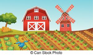 Farmland clipart Of Farmland Vector farmland Art
