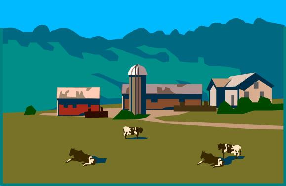 Rural clipart agriculture farming Art Farmland Download Clipart Farmland