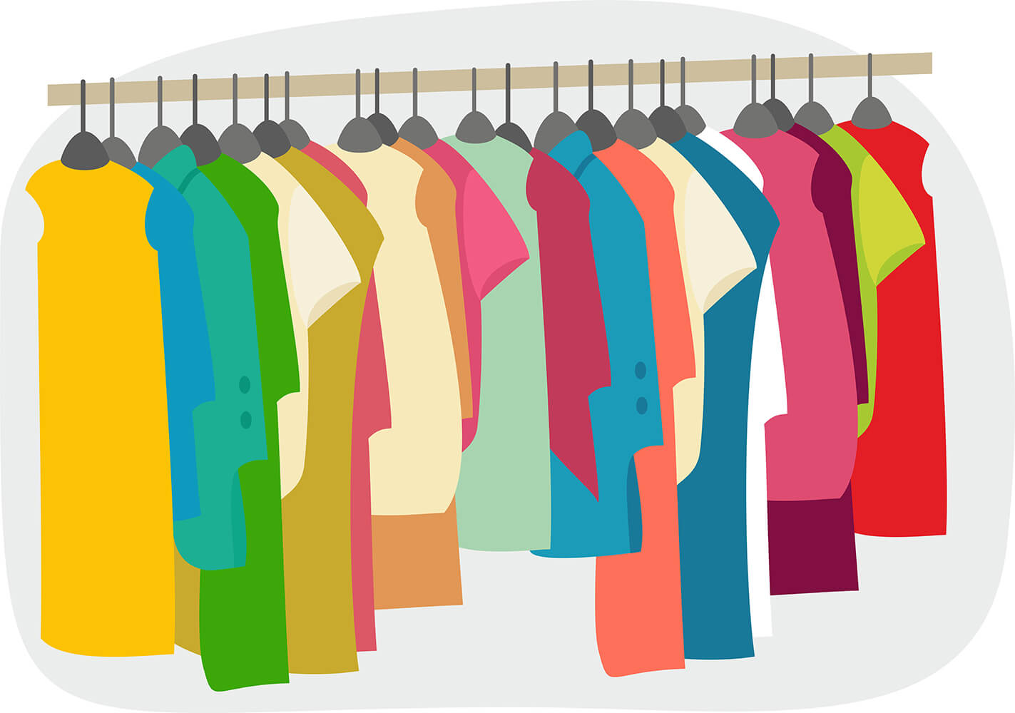 Background clipart clothes #7