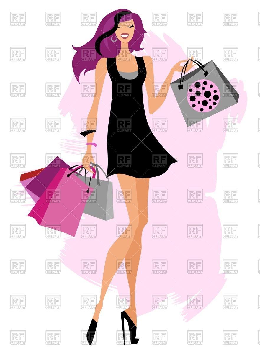 Beautiful clipart diva Diva Clipart Diva Shopping Shopping