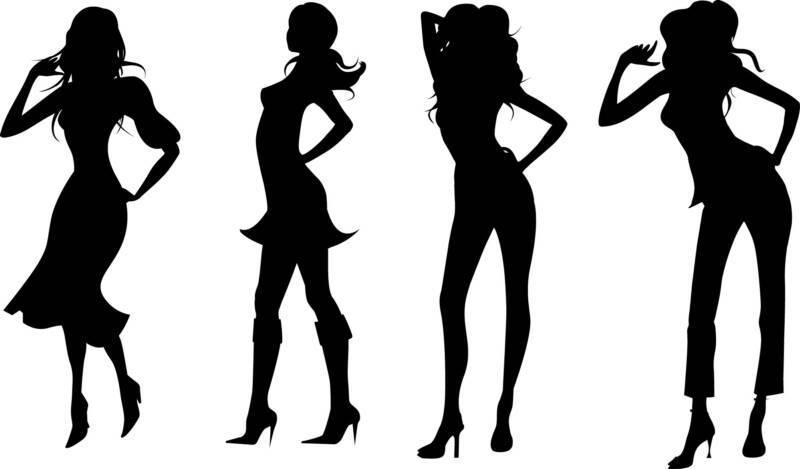 Model clipart fashion modeling #3
