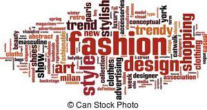Word clipart fashion Cloud cloud  cloud fashion