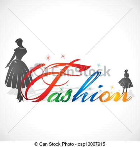 Word clipart fashion Creative Clip vector writing stock