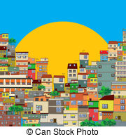 Favela clipart big city Can Clipart Illustrations and Free