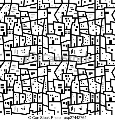 Favela clipart Of Clip with black Art