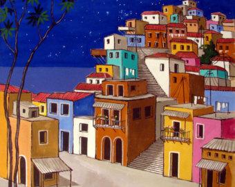 Favela clipart skyline Favela Extra Somewhere on Etsy