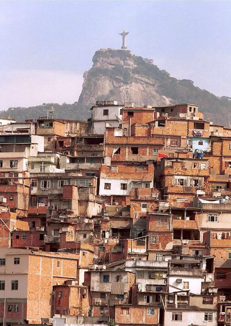 Favela clipart suburban community #7