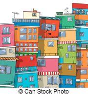 Favela clipart urban community Favela  Favela icon Clipart