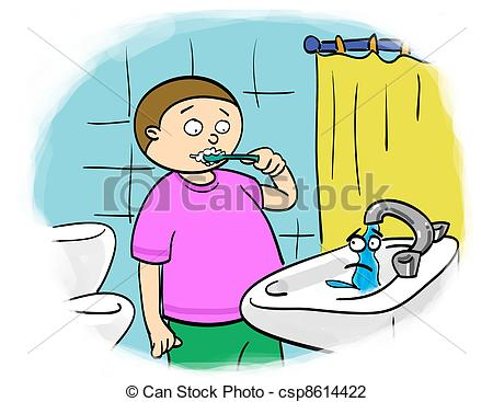 Fawcet clipart water bill Clip Stock images tap art