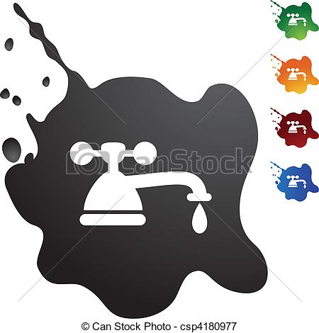 Fawcet clipart water bill Drip Water Illustration  Vector