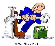Fawcet clipart leaky White Leak 281 free spanner;