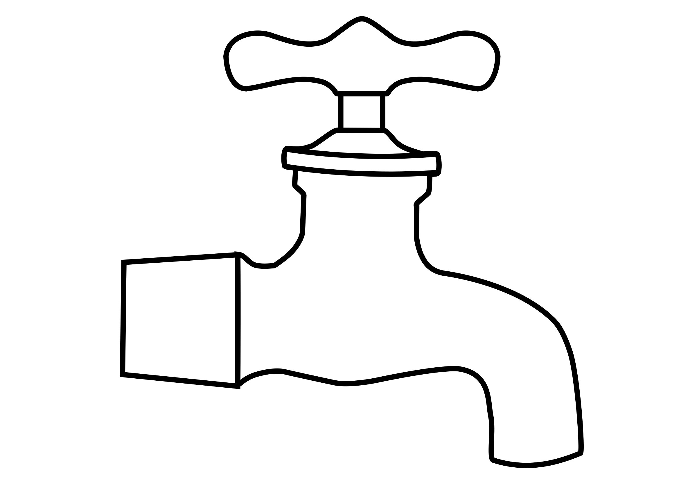 Fawcet clipart water pipe #5