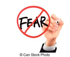 Fear clipart No 3d and and Illustrations