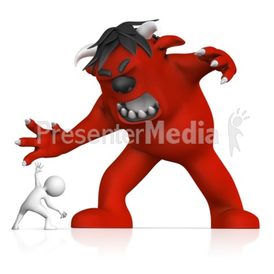 Fear clipart anything Monsters Clipart  PowerPoint Fear