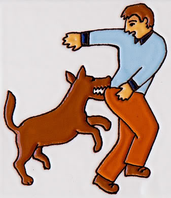 Fear clipart bite Why  People Dog Bite