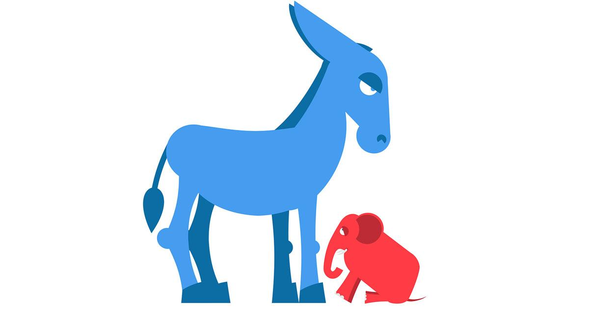 Fear clipart concerned Fear DonkeyandElephant of consequences out