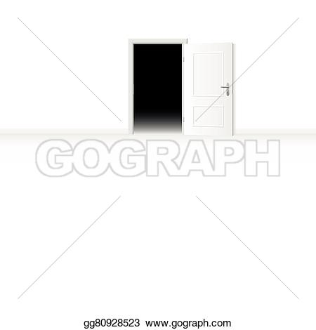 Fear clipart darkness Open to bright EPS room