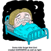 Fear clipart darkness Dark creation blanket tags: fright