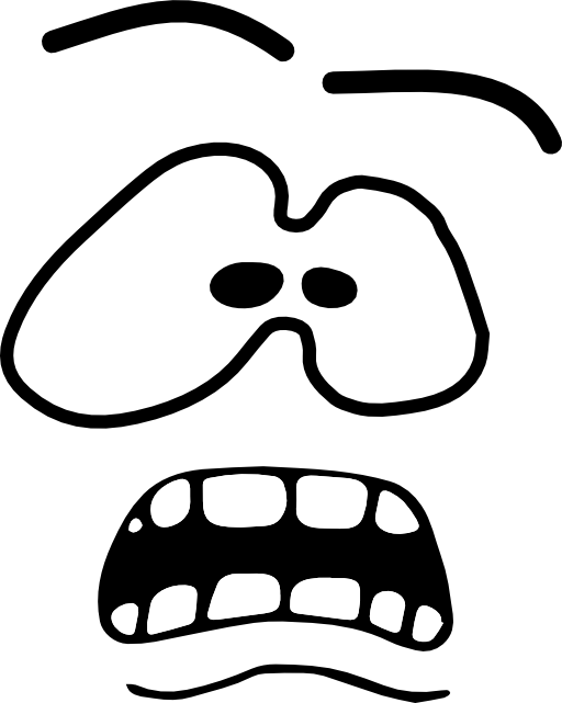 Fear clipart fear emotion Clipart  art Fear clip
