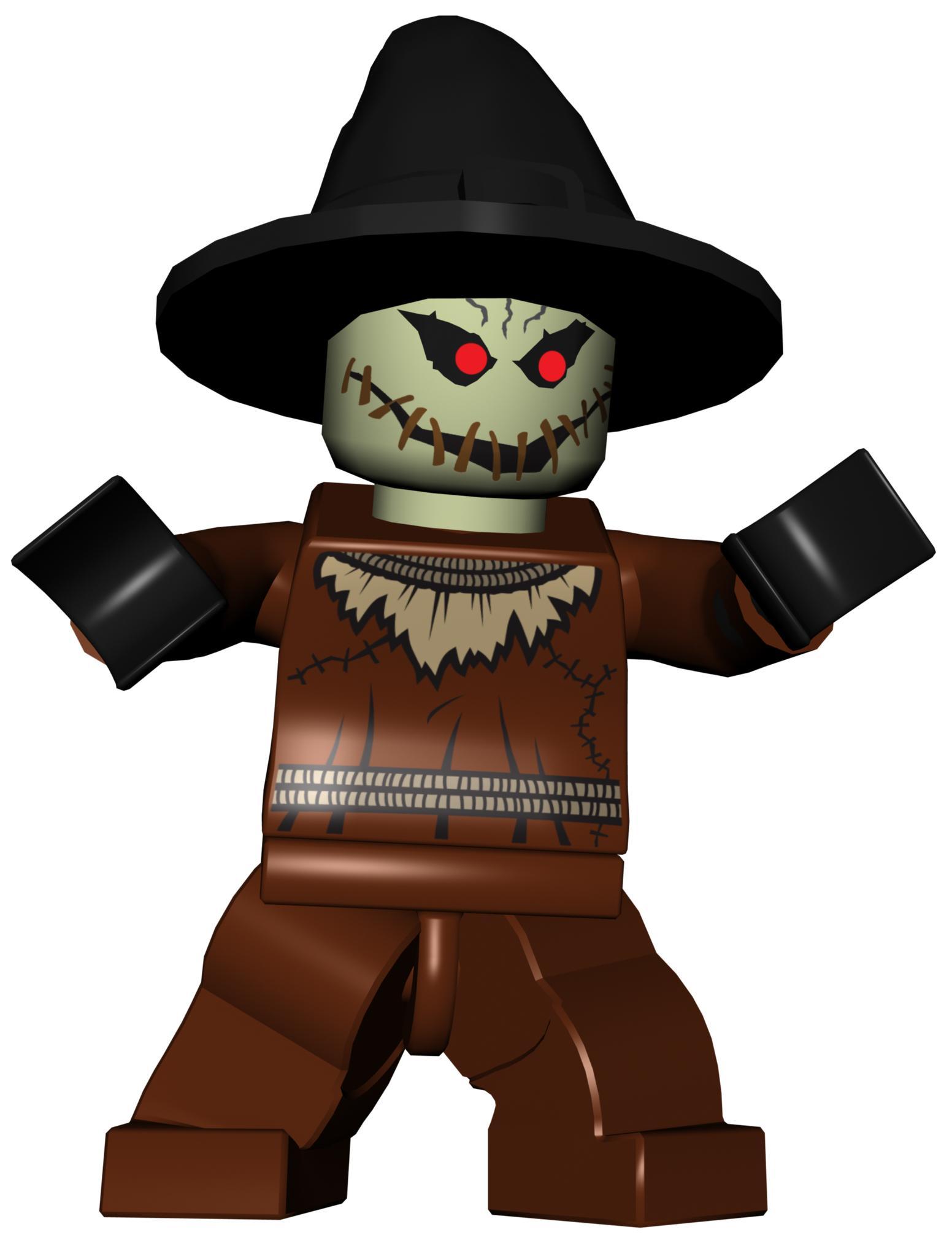 Scarecrow clipart harvest Videogame) LBTVG Batman  (LEGO