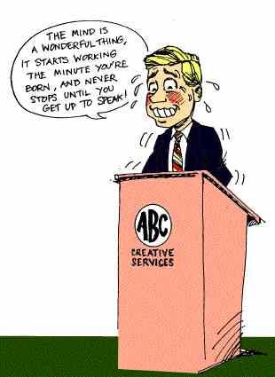 Fear clipart nervous speech Cliparts Nervous clipart Public speaking