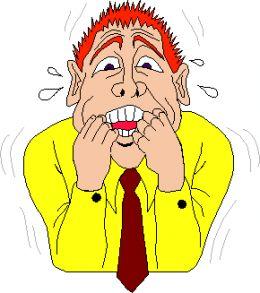 Fear clipart nervous speech On M Paul Johnstone ~