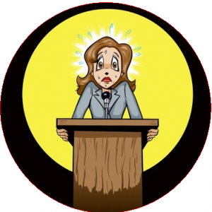 Fear clipart nervous speech Communication Writing speaking and public